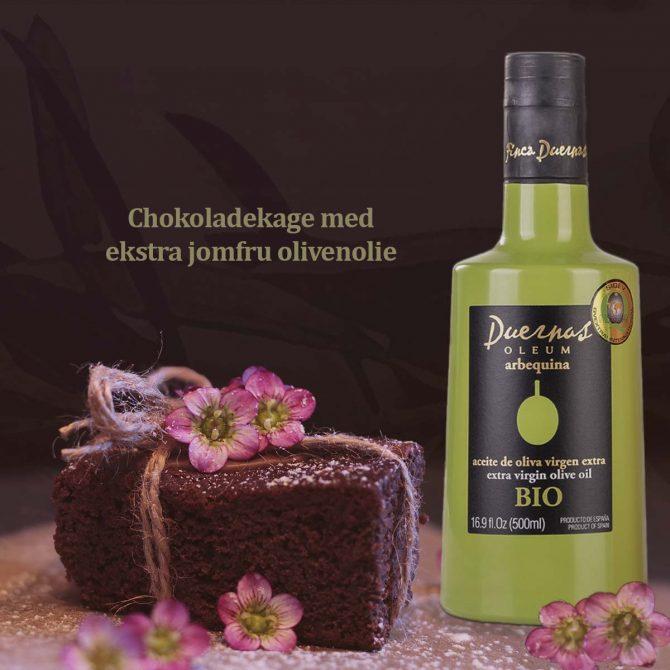 Chokoladekage opskrift med olivenolie